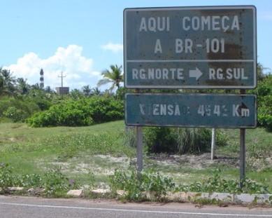 BR 101 – o caminho de ligação do Brasil