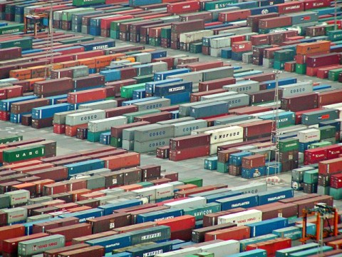 produção de Containers