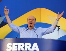 José Serra candidato a presidência do Brasil