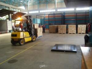 Estudo de caso de exportação com portos secos