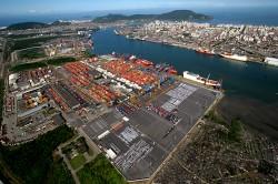 Porto de Santos em boa fase