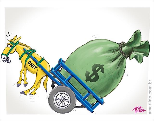 A corrupção nos transportes