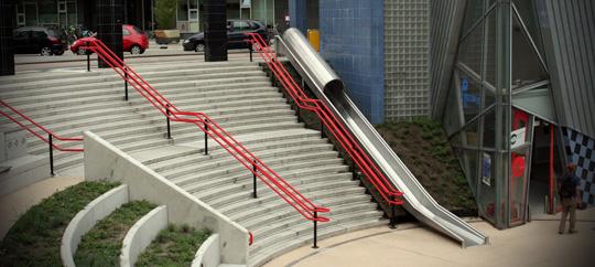 Agilidade (e diversão) nas estações de trem e metrô