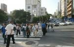 pedestre trânsito