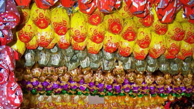 Chocolate representa menos de 30% do custo do ovo de Páscoa