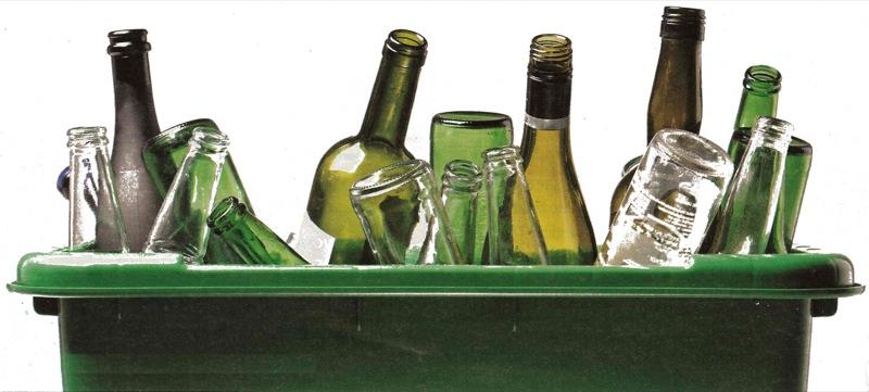 Setor de bebidas investe em logística para reciclar vidro