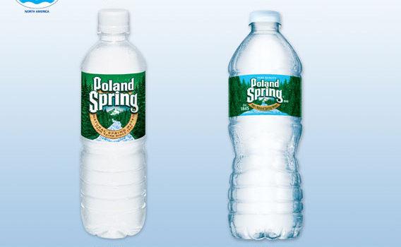 Logística das garrafas d'água mais finas