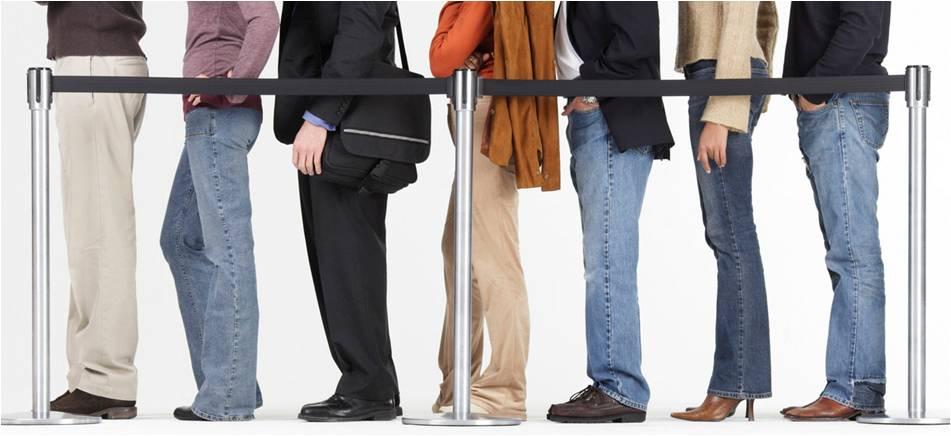 Por que as filas de espera são uma tortura