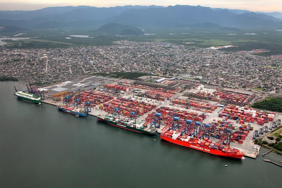 Porto de Santos: novos acessos