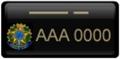 placa-dourado-preto-governo