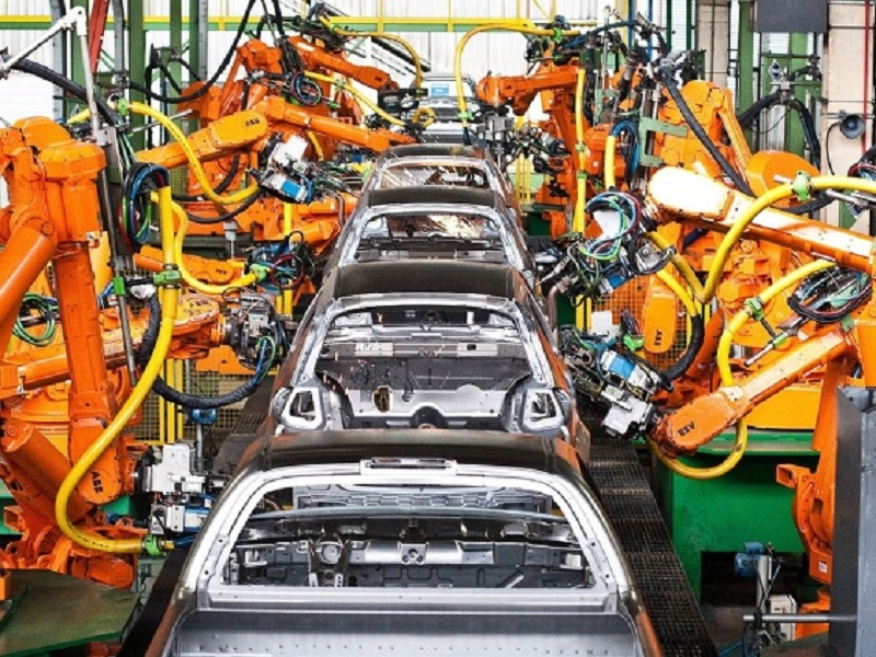 Eficiência através de linhas de montagem automatizadas