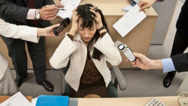 Estresse no ambiente de trabalho
