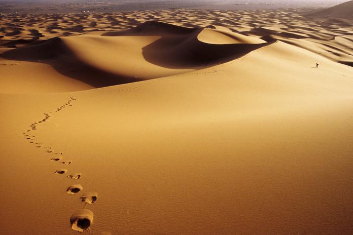 Caminhando no deserto