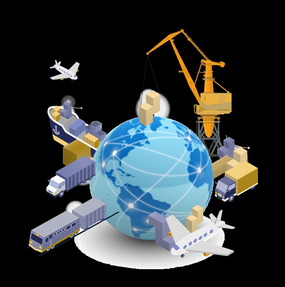 História e evolução da logística